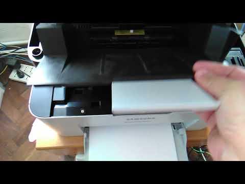 Samsung Xpress SL-M2070 - Replacing the Toner Cartridge
