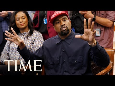 Here's What Kanye West Said To President Trump At The White House | TIME