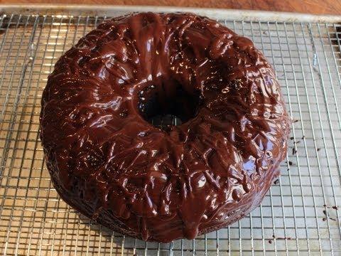Chocolate Sour Cream Bundt Cake – Easiest Chocolate Cake Recipe Ever!