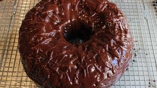 chocolate bundt cake with sour cream