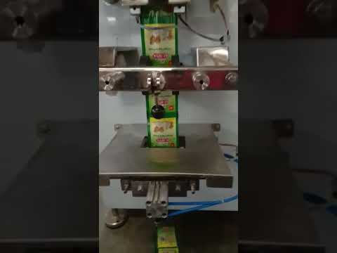 Semi Automatic Ginger Garlic Paste Packing Machine