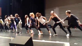 CHS - Footloose - Dance Practice - Holding Out For A Hero