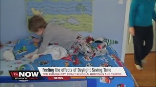 Feeling the affects of daylight saving time? Doctors say time change may impact performance.