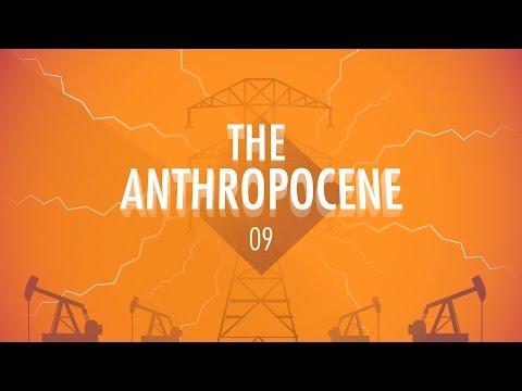 THE ANTHROPOCENE & THE NEAR FUTURE