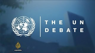 The UN debate