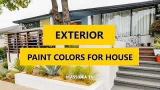 50+ Best Exterior Paint Colors For House 2018