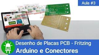 Download Youtube: Desenho de Placas de Circuito Impresso - Aula 3 - Arduino e Conectores