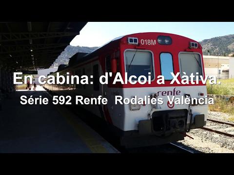 En cabina, Cab ride: d'Alcoi a Xàtiva, 592 RENFE