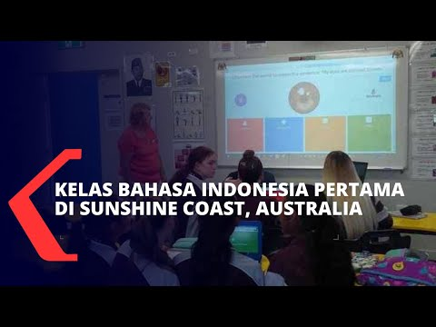 Yuk, Intip Serunya Kelas Bahasa Indonesia Pertama di Sunshine Coast, Queensland, Australia