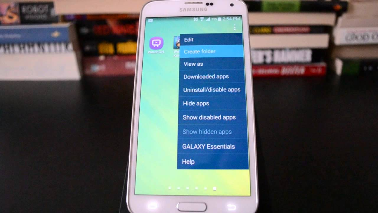 Descargar Samsung Galaxy S5: How to create apps folders in TouchWiz para Celular  #Android