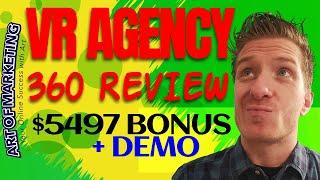 VR Agency 360 Review, Demo, $5497 Bonus, VRAgency 360 Review