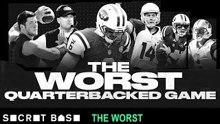 The worst quarterbacked game was a cursed display of spectacular ineptitude