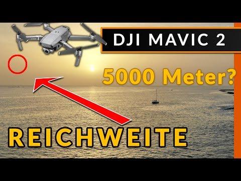 DJI Mavic 2: 5000m Reichweite & Flugzeit Test [ CE / deutsch ]