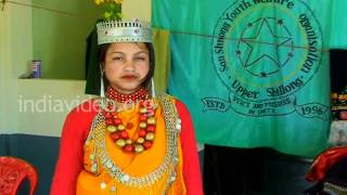 Traditional Khasi tribal dress