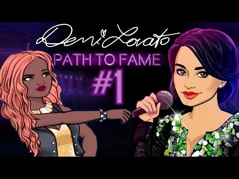DEMI LOVATO PATH TO FAME #1 Season One (Episode Mobile Game)