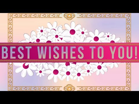 💖Best Wishes to you!💖Video Greeting Cards #WhatsApp