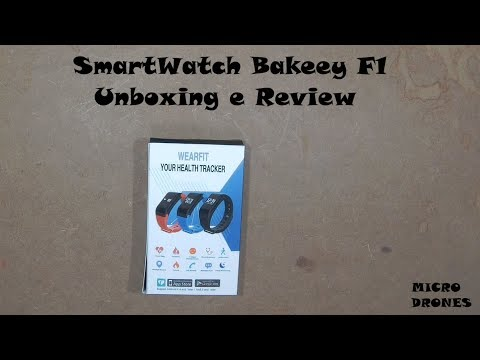 Smartwatch Bakeey F1 - Unboxing e Review