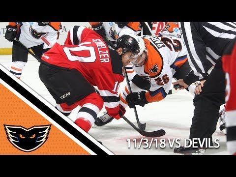 Devils vs. Phantoms | Nov. 3, 2018
