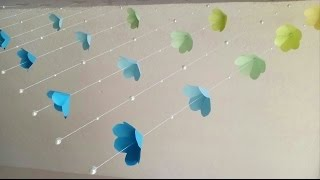 DIY Home decor idea / simple paper craft / English subtitles
