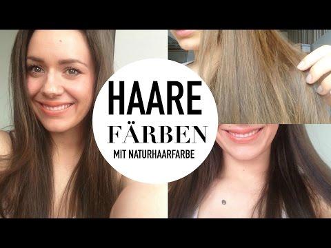Haare in der Schwangerschaft färben I Haare färben mit Naturhaarfarbe I Anleitung I Vorher Nachher