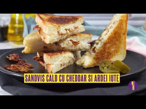 0 Pâine prăjită de brânză cu ardei iute