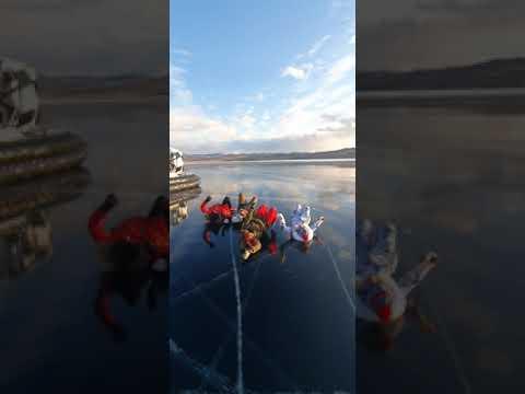 Фото видеогид Соревнование по плаванью в зимнем тур :)