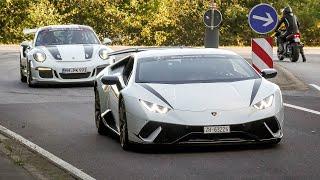 Cars Leaving Nürburgring! Ferrari 812, Audi RS7, BMW M5 V10, M4 M3CS, AMG GTR, A45S, Alfa Giulia etc
