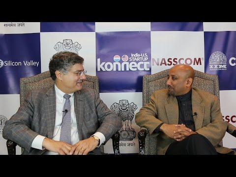 Interview at India-US Startup Konnect, September 2015
