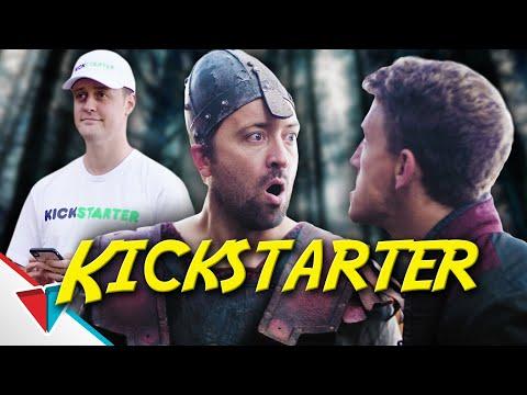 Lupiči a Kickstarter - Epic NPC Man