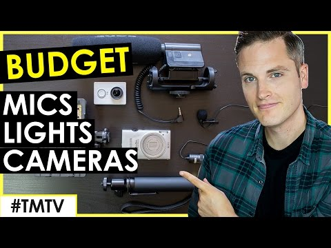 Best Cheap Microphones, Lighting, and Low Budget Cameras for YouTube
