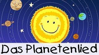 Das Planetenlied || Kinderlieder Zum Lernen