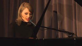 Taylor Swift Performs Stripped Down Version of