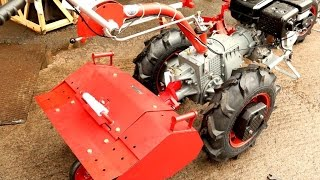 Мотоблок мотор сич МБ-6 дизель от компании ПКФ «Электромотор» - видео 2