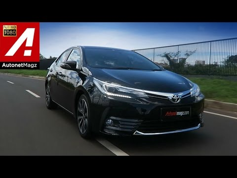 Review Toyota Corolla Altis facelift 2017