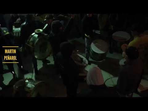 """""""Previa de la Percusión- Hinchada de Peñarol (vs fluminense)"""" Barra: Barra Amsterdam • Club: Peñarol"""