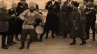 Снежочки - казачья лезгинка (Caucasian Cossacks
