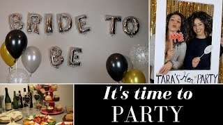 How To Throw An Awesome Hen Party 🎉| Bachelorette Party
