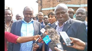 NYORO, POLICE DRAMA: Catholic bishop bans politicians from church functions after MPs church drama