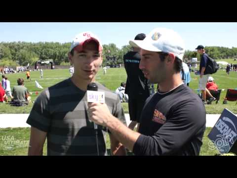 2012 College Championships: Open Callahan Winner, Nick Lance Interview