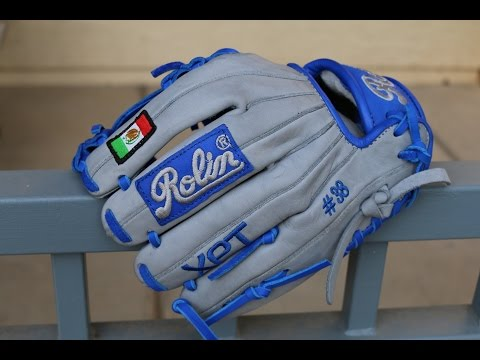 Rolin GV-333 12.25″ Grey Royal Custom Baseball Glove