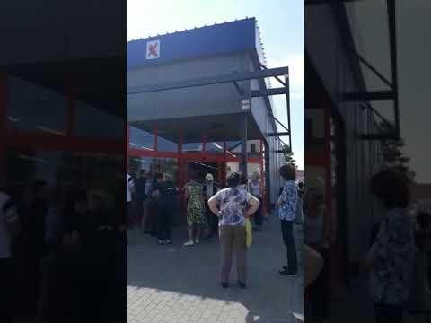 """Aculieciniece: Jēkabpilī, veikalā """"Maxima"""" Rīgas ielā šodien pusdienlaikā atskanējusi trauksmes sirēna (PAPILDINĀTS TEKSTS UN PIEVIENOTS VIDEO)"""