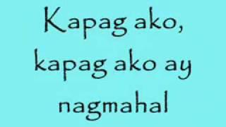 Kapag ako ay nagmahal - Jolina Magdangal w/ LYRICS HIGH QUALITY
