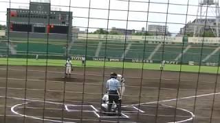 2017秋高校野球福岡大会折尾愛真松井選手