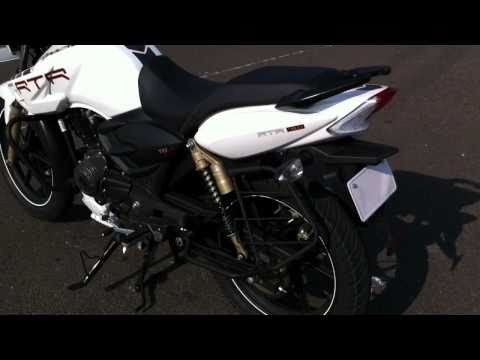 TVS Apache RTR 180 ABS First Ride on OVERDRIVE