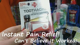Best Relief for Tooth Pain By Far! (Over The Counter)