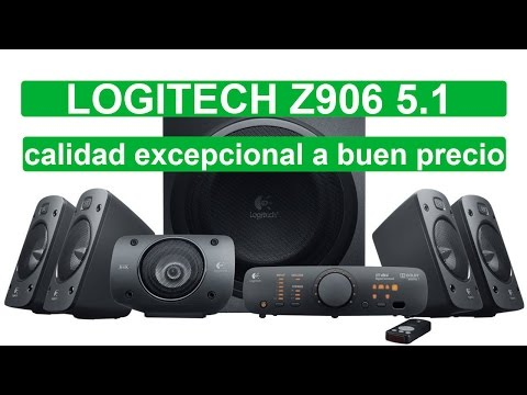 Comprar logitech Z906 home cinema