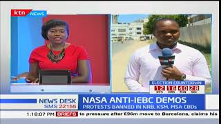 NASA anti-IEBC demonstrators  in Mombasa dispersed