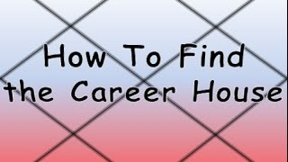 How to Find The House Which Determines Your Career