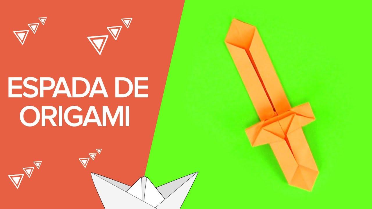 Espada de papel paso a paso | Origami para niños