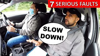 Caught Speeding On Driving Test | DRIVING FAIL 2020